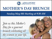 Mother's Day Brunch at the Bellport Country Club