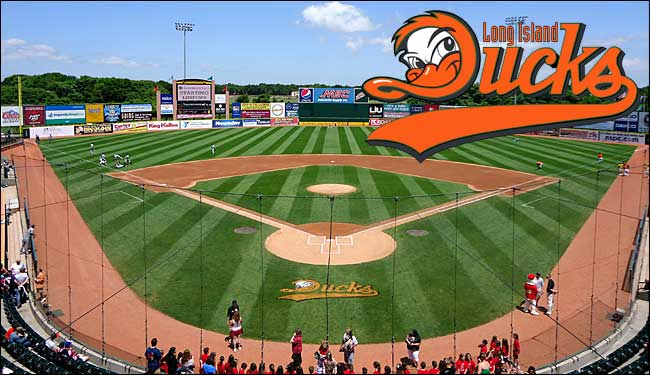 Image result for Long Island ducks game