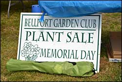2015 Bellport Garden Club Annual Memorial Day Plant Sale