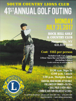 Lions Club Golf Outing