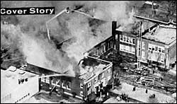 Bellport High School Fire 1963
